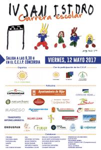 Cartel de la IV San Isidro Carrera Escolar
