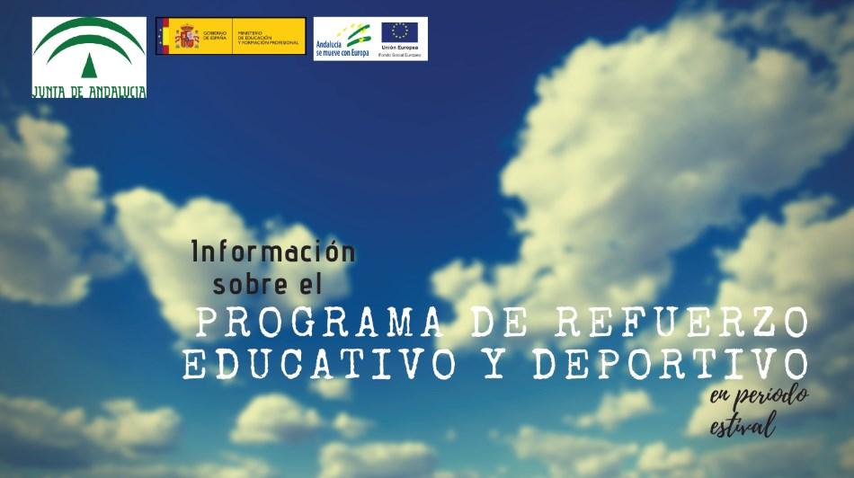 Programa de refuerzo educativo y deportivo en verano