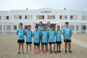 El equipo con la equipación de balonmano