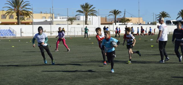I circuito de rugby de Campohermoso