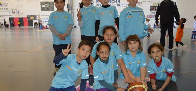 II encuentro de pequebasket en La Mojonera