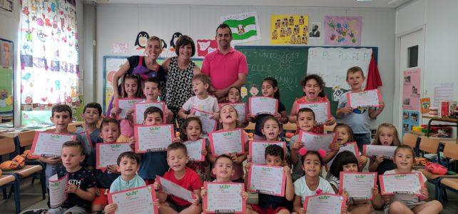 Alumnado del CEIP Concordia gana el concurso comarcal #NíjarConciencia
